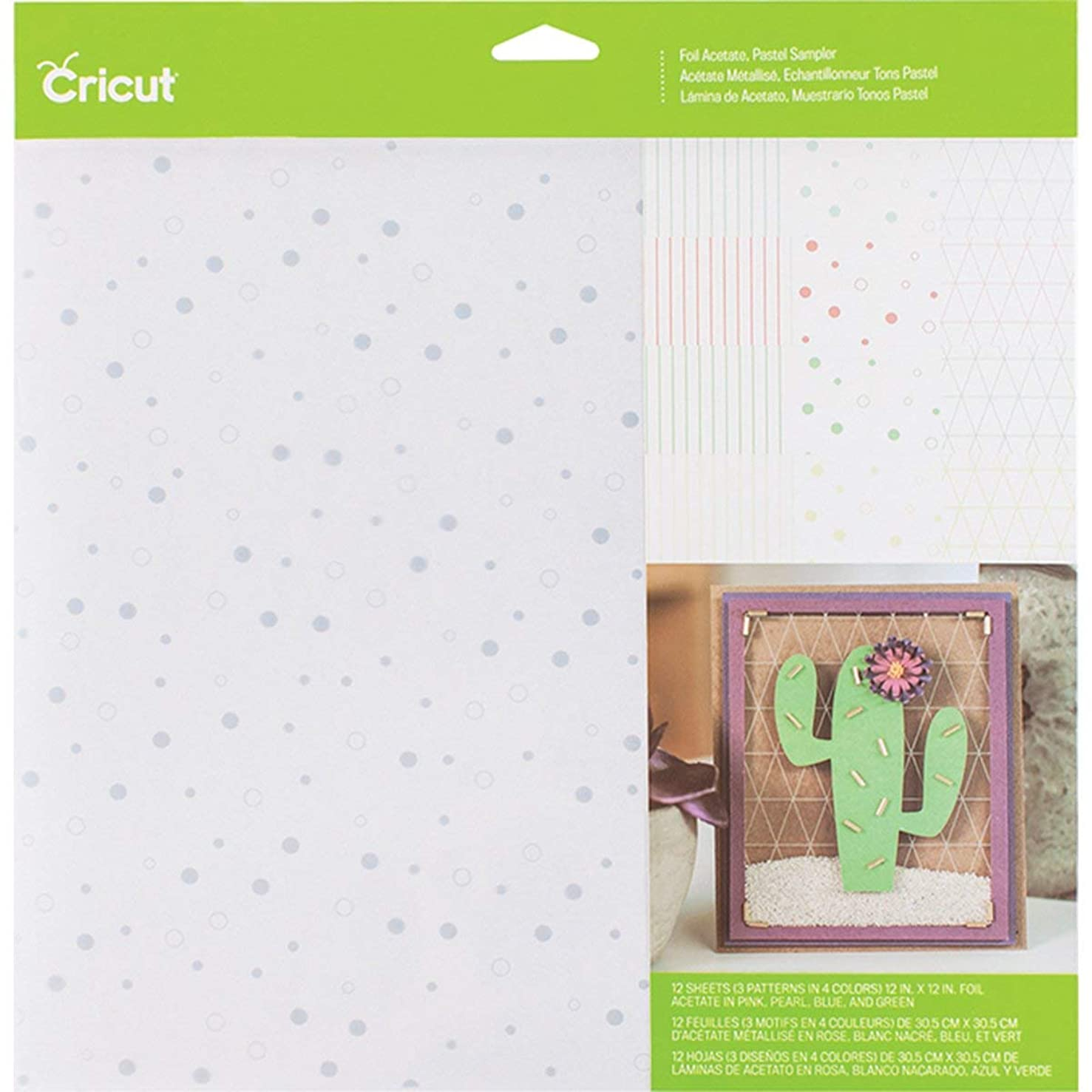 Cricut 304833 Foil Acetate, Assorted