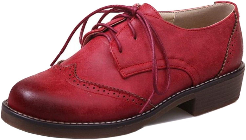 AicciAizzi Women Classic Brogue shoes