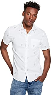 Men's Vinny Cactus-Embroidered Shirt