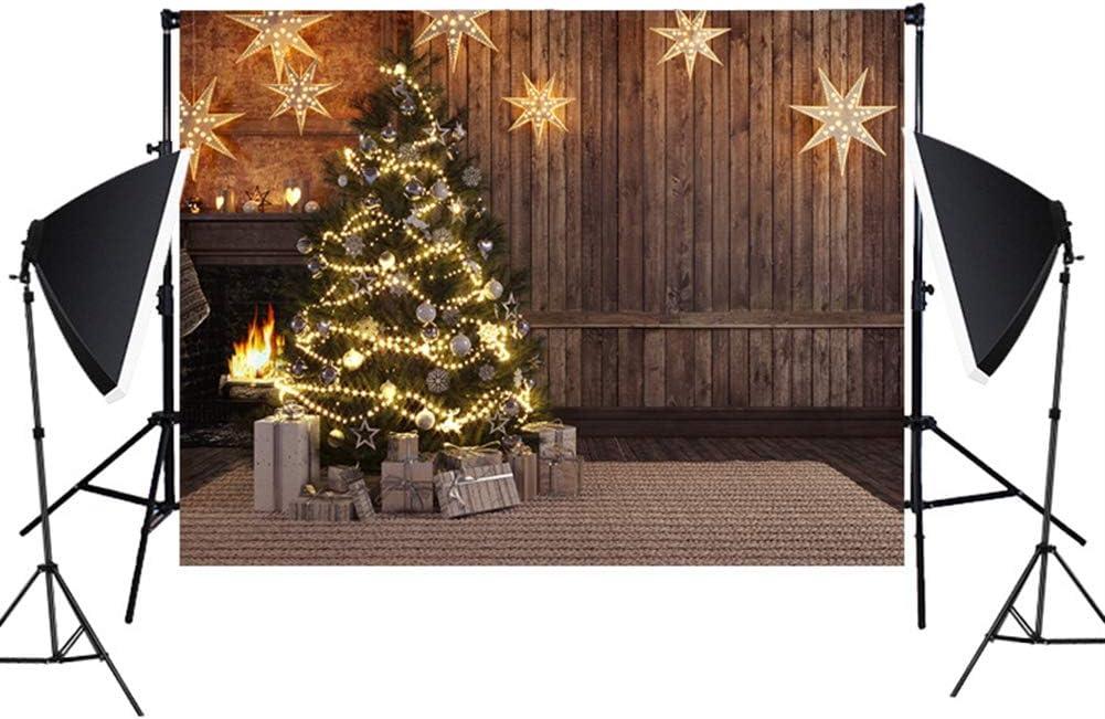 Insun Wall Photo Backdrop Christmas Floor Photography Background Non Reflective for Birthday Anniversary Party Photo 4.9x7.2 WxL