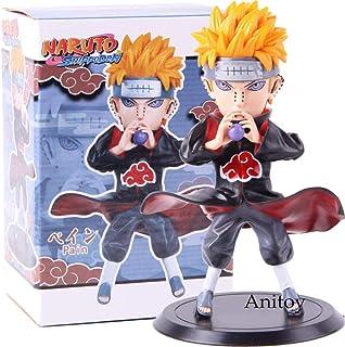 MNZBZ Anime Naruto Shippuden Akatsuki Pain Pein Naruto Figura de acción PVC Modelo de Juguete Coleccionable