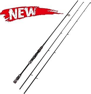 Entsport Camo Legend 2-Piece 7-Feet Spinning Rod 24 Ton Carbon Fiber Spincasting Fishing Rod with 2 Tips - Medium and Medi...
