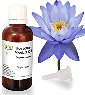 Allin Exporters Blue Lotus Absolute Oil - 100% Pure, Natural & Undiluted - 30 ML