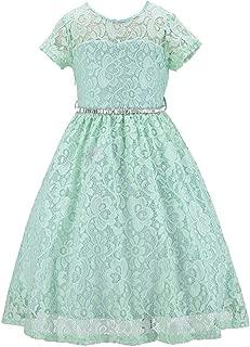 Bow Dream Rustic Flower Girl Dress