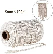 Cuerda rollo de cuerda 10m x 4mm cuerda de polyestere nautica trenzada. multiusos cuerda cuerda de amarre azul//blanco
