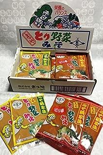 本江醸造食品 まつや とり野菜みそ&ピリ辛詰合せ 1箱12袋入り(200g×12袋)
