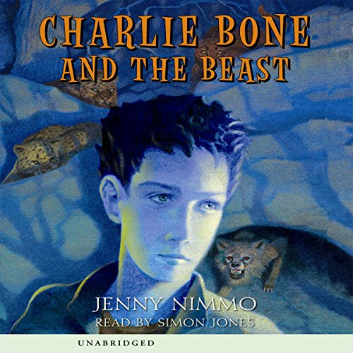 Charlie Bone and the Beast audiobook cover art