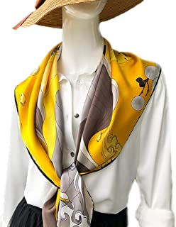 Stoles Summer Thin Section Silkworm Silk Shawl Wild Large Square Silk Scarves Sunscreen Shawl Shawls (Color : Yellow)