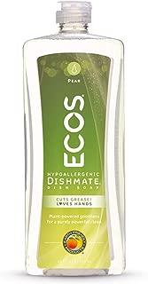 Earth Friendly Products ECOS Dishmate, Dishwashing Liquid, Natural Pear, 25 oz