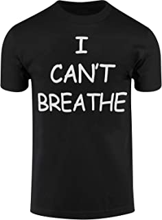 I Cant Breathe Mens Shirts Protest Tees END Police Brutality Now