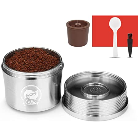 Stainless Steel Refillable Coffee Capsule Filter Pod for Illy X7.1 X8 X9 Y5