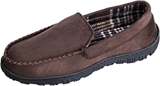 MIXIN Men's Casual Anti Slip Rubber Sole Indoor Outdoor Slip On Driving Loafers Moccasins Slippers Shoes