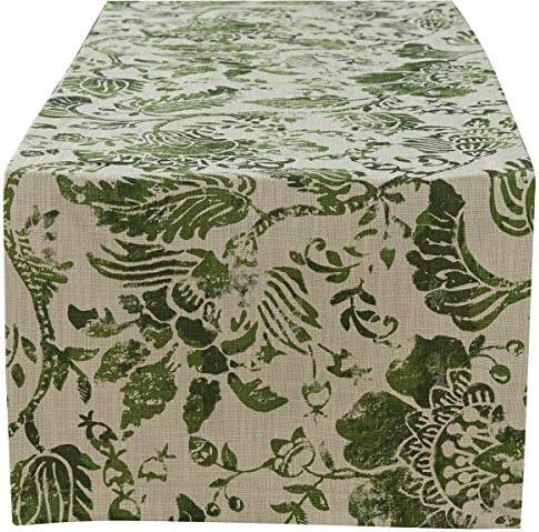 Split P Caprice Table Runner 72 L Olive product image