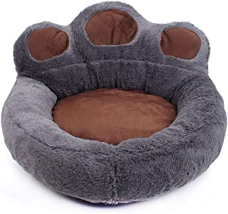 Apostasi Bear's Shape Pet Dog Bed Sofa Bear Claw Shape Kennel Lovely Soft Breathable for Deluxe Pet Bed for Cats and Small...