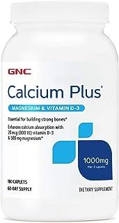 GNC Calcium Plus Magnesium & Vitamin D-3 1000 mg