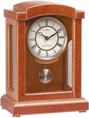 Renovators Supply Clocks Walnut Wooden Parisian Pedulum Clock