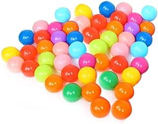 Multicolor Di/ámetro 5.5cm 100 Pcs JUNGEN Colorida Bola de Pl/ástico Oc/éano Bola Ni/ños Nadar Agua Piscina Bola del Juguete