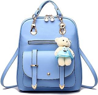 حقيبة ظهر صغيرة للنساء مع 9 جيوب للفتيات حقائب صغيرة لطيفة للسفر كل يوم حزمة