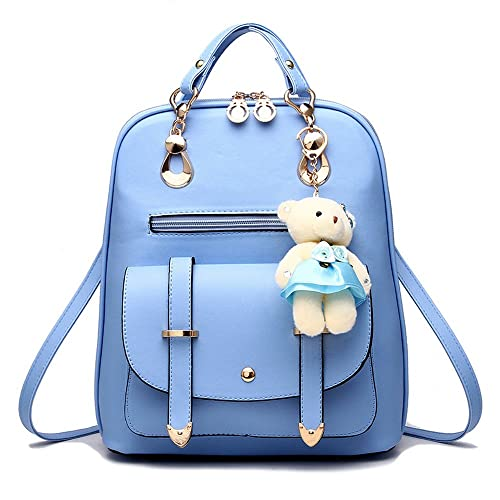 595525133f Women Backpack Purse for Girls School Bags Quilted Casual Small Purse