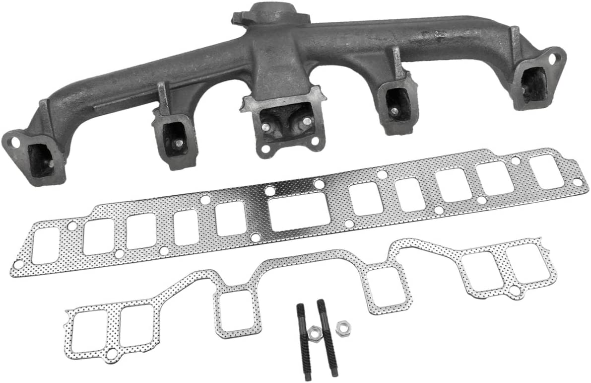 PartsFlow Exhaust Manifold For 激安卸販売新品 1981-1990 J10 Wrangler CJ7 メーカー公式 Jeep