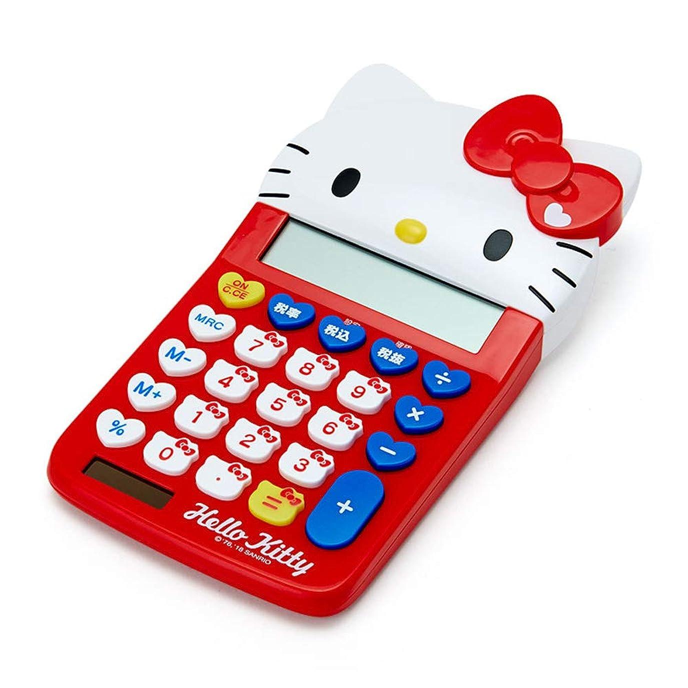スポンジペレット指標ハローキティ フェイス形キー電卓