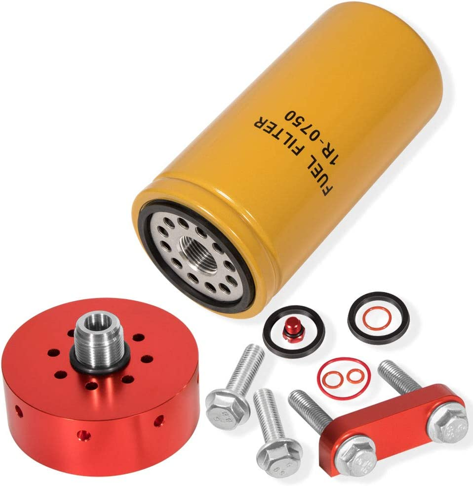 Royalo 6.6L Chevy GMC Duramax Fuel Adapter Filter Kit 新色 with 蔵 1-R07