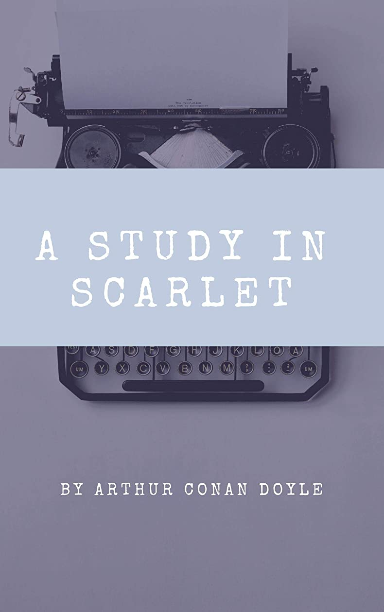 多用途リスナー支配するA Study in Scarlet (English Edition)