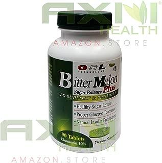 GSL Bitter Melon Sugar Balance Plus 90 Tablets/Bottle(5 Packs)