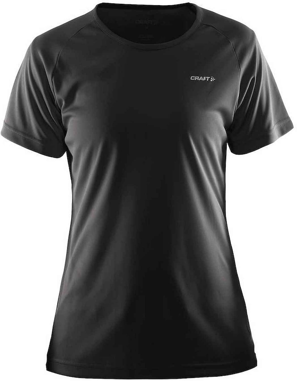 Craft 1904690 Womens Essential Tee Shirt, Black  XXXL