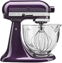 KitchenAid 5-Quart Stand Mixer Glass Bowl Plumberry