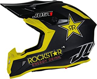 Just1 J38 Rockstar Motocross Helm M