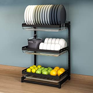 Bol de rangement pour cuisine, table, disque, rangement de cuisine, trois - A