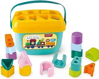 Popsugar Baby Blocks Toy Screening Color and Shape Bucket