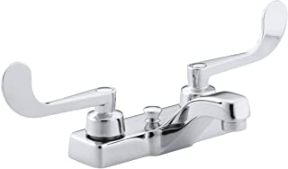 KOHLER K-7401-5A-CP Triton Centerset Lavatory Faucet, Polished Chrome