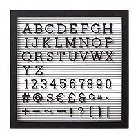 レターボード 文字 ボード [Sサイズ/ホワイト] メッセージボード 数字 サインボード アルファベット アルファベットボード 記号 おしゃれ 看板 シンプル 黒文字 ショップ ウェルカムボード
