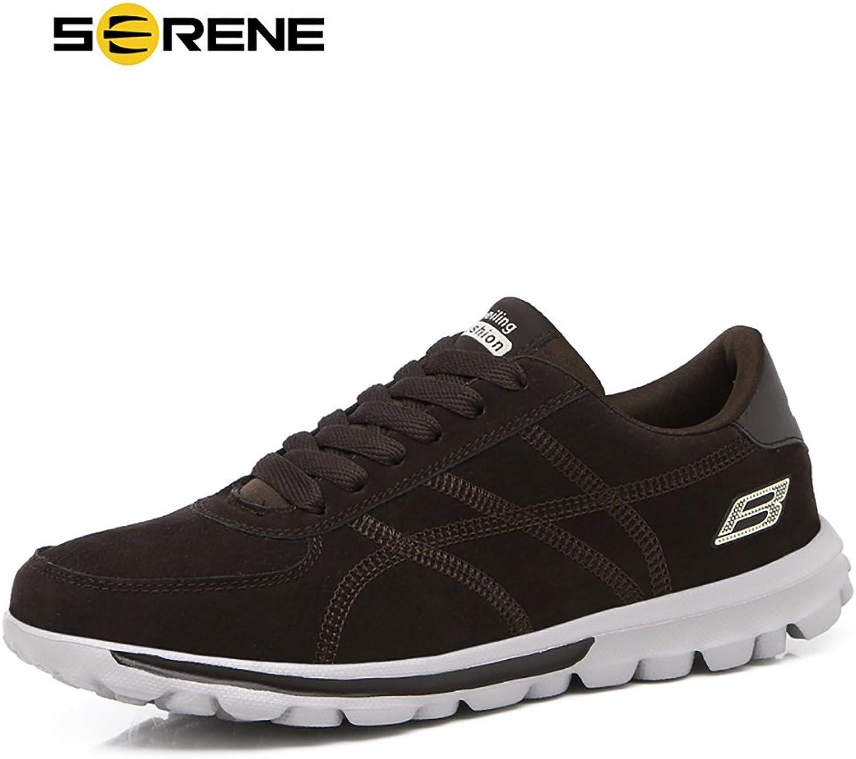VILKOW Serene herr Mode skor skor skor skor Lättviktare skor för Män, Deep bspringaaa, grå, gul Options  2018 senaste