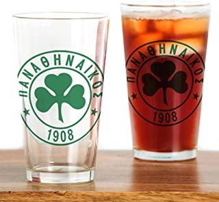 CafePress Panathinaikos Pint Glass, 16 oz. Drinking Glass