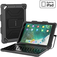 dodocool iPad Keyboard Case for iPad 9.7 2018 6th Generation Cases with Keyboard [MFi Certified] with Stable Wired Connect...