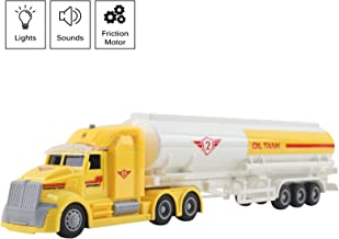 Vokodo Toy Semi Truck Fuel Trailer 14.5