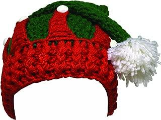 Unisex Christmas Tree Knitted Crochet Beanie Santa Hat Bearded Caps
