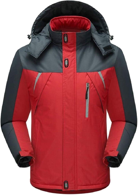Xswsy XG-CA Mens Windbreaker Warm Thick Outwear Fleece Waterproof Jackets