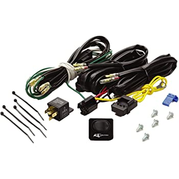 amazon.com: kc hilites 6315 wiring harness with 40 amp relay and led rocker  switch: automotive  amazon.com