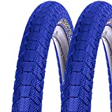 2x Kenda Fahrrad BMX Reifen Krackpot K-907 50-406 20x1.95 Draht blau