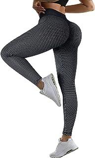 RXRXCOCO Damers scrunch leggings med rumplyft och hög midja med magkontroll