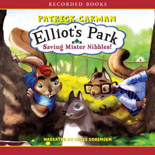 Saving Mister Nibbles! audiobook cover art