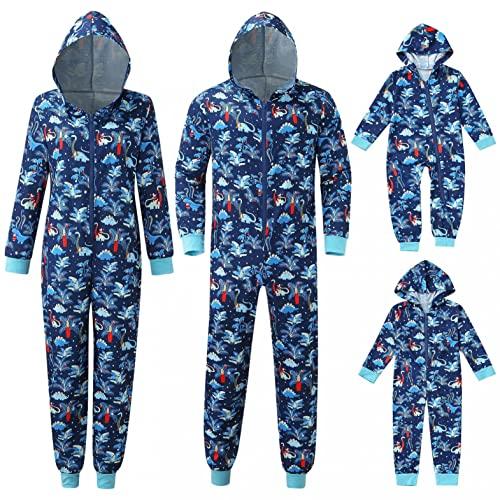 Onesie - Pijama de Navidad para familias de Navidad, mono para dormir, pijama de Navidad, traje de invierno, a cuadros