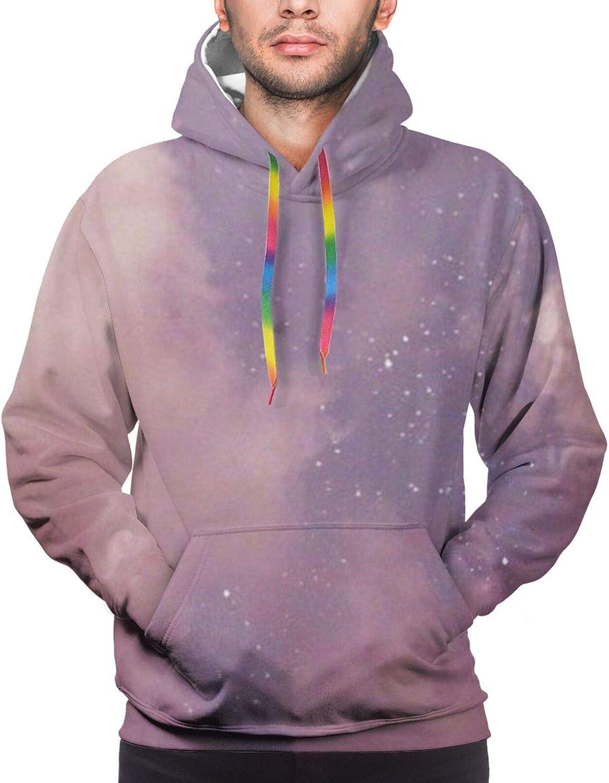 Pink night Max 81% OFF moon Cotton 1 year warranty Unisex Hoodies Graphics 3D Printed Fleece