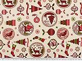 Zanderino ab 1m: Festlicher Weihnachtsstoff,