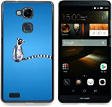- Long Tail Grey White Animal Ring Tailed Lemur Rainforest - Slim Guard Armor Phone Case- For HUAWEI Ascend Mate 7 Devil Case