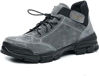 Léger Chaussures de Sécurité Hommes Femmes De Travail Formateurs En Acier Toe Casquettes Sport Baskets
